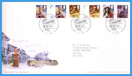 2008-11-04 Christmas Pantomime Stamps First Day Cover refc83
