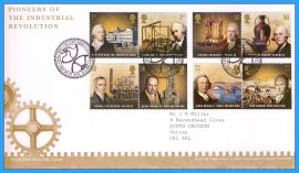 2009-03-10 Pioneers of the Industrial Revolution Stamps First Day Cover refC89