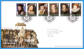 2009-04-21 The House of Tudor Kings and Queens - The Age of the Tudors Stamps First Day Cover refc91