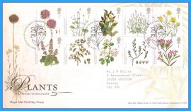 2009-05-19 Plants UK Species in Recover Stamps First Day Cover refc93