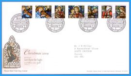 2009-11-03 Christmas Stamps First Day Cover Let there be light and there was light GENESIS 1:3 refc100