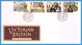 1987-09-08 Victorian Britain Queen Victoria Stamps FDC with House of Commons cds. Refcd9
