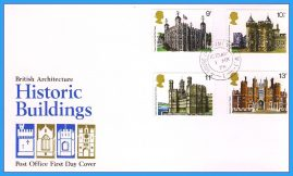 1978-03-01 Historic Buildings British Architecture Stamps FDC with House of Commons CDS refcd19