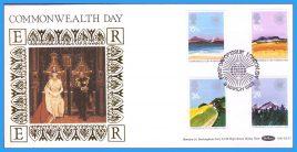 1983-03-09 Commonwealth Day Stamps Benham Bilk BLS2 FDC refcd24