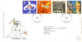 1982-10-13 British Motor Car Industry Stamps BROOKLANDS Weybridge Surrey SHS Benham Silk FDC BLS7 rcd59