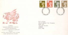 1982-07-23 British Textiles Stamps WILLIAM MORRIS Benham Silk FDC rcd62