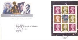 1982-04-28  British Theatre Stamps Benham Silk FDC BLS3 25th Anniversary Royal Opera House COVENT GARDEN shs rcd76
