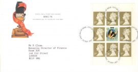 1983-01-26 British River Fishes Stamps BLS(2)1 Benham Silk FDC  SALMON Coleraine Co.Londonderry shs rcd79
