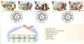 1981-08-12 Duke of Edinburgh Award Scheme 25th Anniversary Stamps Benham Silk BOCS(2)7 FDC rcd86
