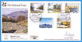 1981 National Trust Official Cover SIGNED BY Director General Derwentwater Keswick BENHAM BOCS(2)4 rcd109
