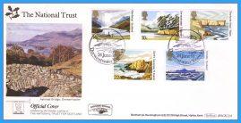 1981-06-24 National Trust National Trust Official Cover Derwentwater Keswick BENHAM BOCS(2)4 rcd110