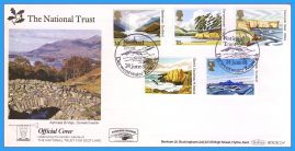 1981-06-24 National Trust Stamps First Day Cover OFFICIAL COVER Derwentwater BOCS(2)4 rcd124 Unsealed with insert card. Good Condition.