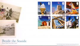 2007-05-15 Beside the Seaside Stamps BLACKPOOL shs Royal Mail FDC with insert card. Very Good Condition. rcd82