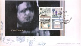 2007-03-01 World of Invention Stamps minisheet CONCORDE SHS Royal Mail FDC - sealed with insert card. Very Good Condition. rcd84