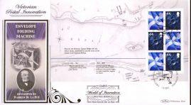 2007-03-01 World of Invention Prestige Booklet D495 Stamps LTD ED FDC M/S Definitive Stamps Scotland rcd92