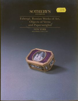 SOTHEBY'S Faberge