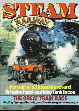 Steam Railway vintage magazine in good read condition. Light wear on cover. Name written on back cover. R202