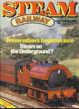 Steam Railway vintage magazine in good read condition. Light wear on cover. Name written on cover. R213