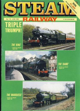 Steam Railway vintage magazine in good read condition. Wear on cover. Name written on back cover. R206