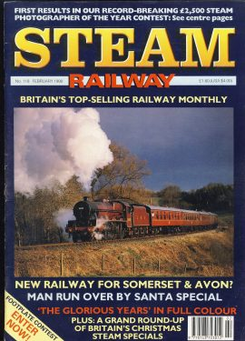 Steam Railway vintage magazine in good read condition. Some wear on cover. Name written on back cover. R204
