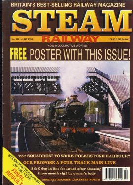 Steam Railway vintage magazine in good read condition. Some wear on cover. Name written on back cover. R249