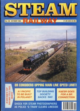 Steam Railway vintage magazine in good read condition. Some wear on cover. Name written on back cover. R247