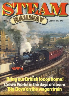 Steam Railway vintage magazine in good read condition. Light wear on cover. Name written on cover. R203