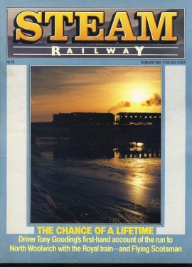 Steam Railway vintage magazine in good read condition. Light wear on cover. Name written on back cover. R207