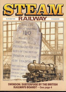 Steam Railway vintage magazine in good read condition. Light wear on cover. Name written on cover. R218