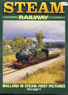 Steam Railway vintage magazine in good read condition. Wear on cover. Name written on back cover. R216
