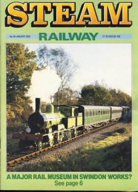 Steam Railway vintage magazine in good read condition. Light wear on cover. Name written on back cover. R239