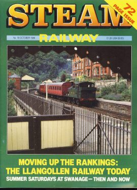Steam Railway vintage magazine in good read condition. Light wear on cover. Name written on back cover. R233