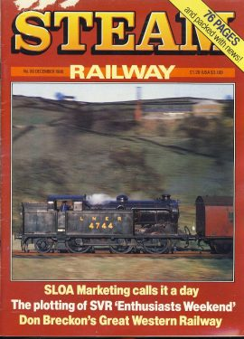 Steam Railway vintage magazine in good read condition. Wear on cover. Name written on back cover. R222