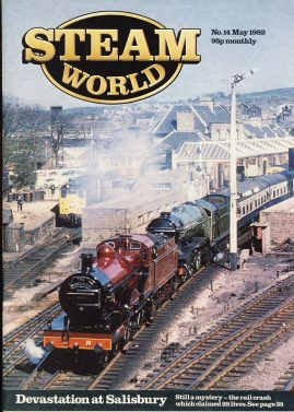 Steam World vintage magazine in good read condition. Some scuffs to the cover.Name written on cover r1519