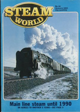 Steam World vintage magazine in good read condition. Some scuffs to the cover. r1522