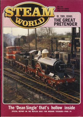 Steam World vintage magazine in good read condition. Some scuffs to the cover. r1521