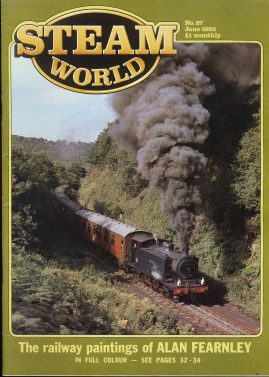 Steam World vintage magazine in good read condition. Some scuffs to the cover.r1520