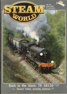 Steam World vintage magazine in good read condition. Some scuffs to the cover.Name written on cover r1524