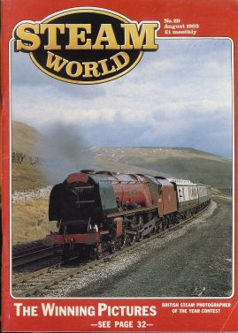 Steam World vintage magazine in good read condition. Some scuffs to the cover.Name written on cover r1525