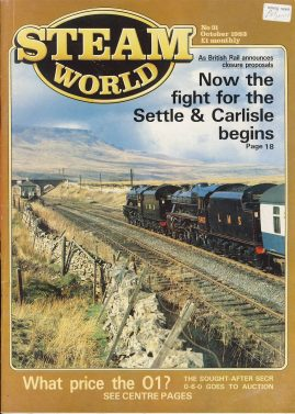 Steam World vintage magazine in good read condition. Some scuffs to the cover.Name written on cover r1526