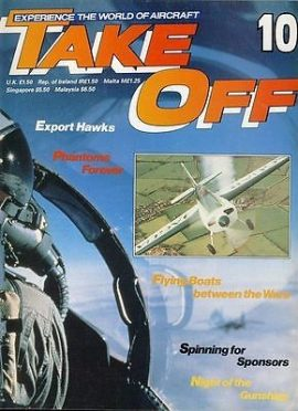 TAKE OFF Aircraft Magazine 10 Hawks Phantoms Gunships