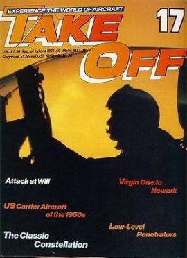 TAKE OFF Aircraft Magazine 17 Constellation US Carrier 1950s