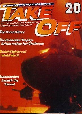 TAKE OFF Aircraft Magazine 20 World War II fighters Schneider