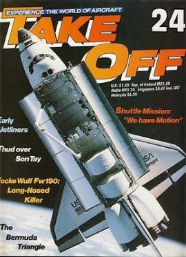 TAKE OFF Aircraft Magazine 24 Shuttle Mission Focke Wulf 190