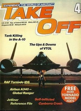 TAKE OFF Aircraft Magazine 4 Tornado Airbus A340 Canberra