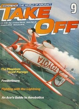 TAKE OFF Aircraft Magazine 9 Phantom Feederliners Lightning