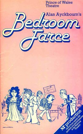 1978 Prince of Wales Theatre Programme BEDROOM FARCE Alan Ayckbourn refb101151 Pre-owned Programme in Good Condition. Measures approx 13cm x 21cm