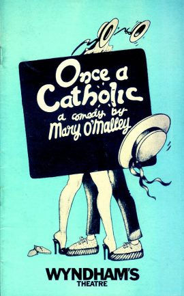 ONCE A CATHOLIC 1977 WYNDHAM'S Theatre Programme refb101157 Pre-owned Programme in Good Condition. Measures approx 13cm x 21cm
