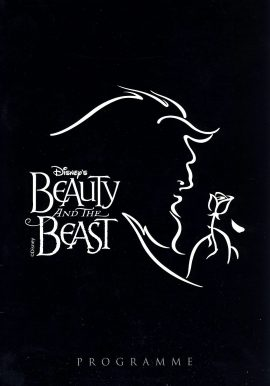 Disney's Beauty and the Beast Theatre Programme Nic Greenshields