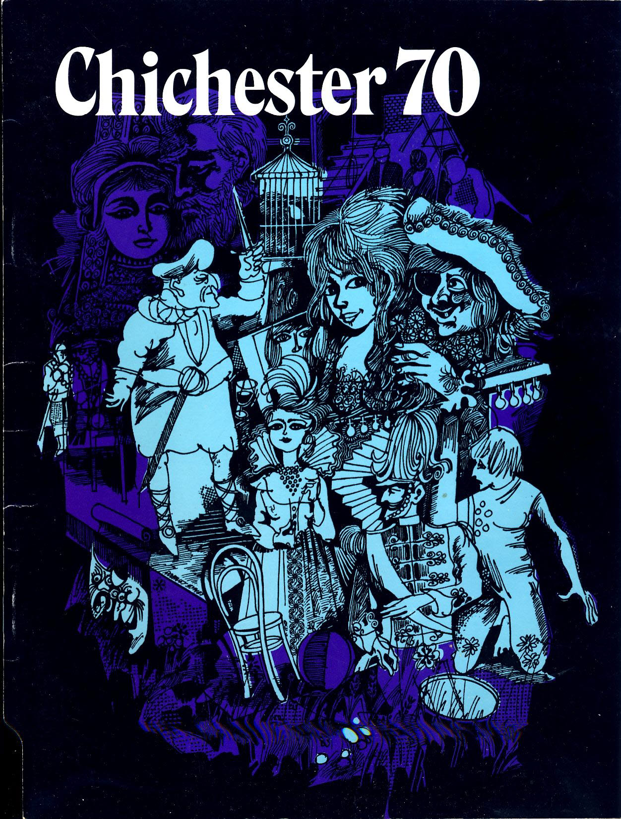 1970 Chichester 70 Vintage Theatre Programme 48 pages refb101206 Pre-owned Programme in Good Condition. Measures approx 21cm x 28cm Please read full description.